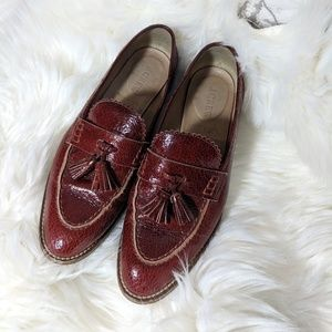 J Crew Leather Loafers Women 6